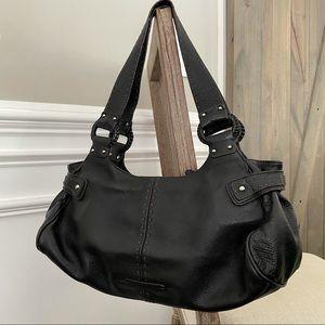Cole Haan Leather Barrel Bag